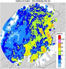 観測雨量(XRAIN)