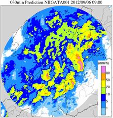 予測雨量(30分先)