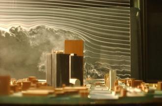 風洞実験写真