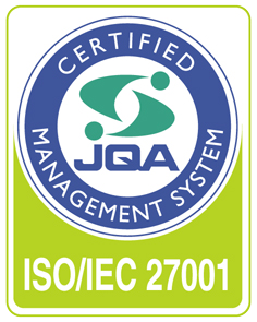 ISO27001 認定マーク