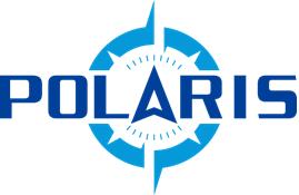 「POLARIS」のサービスロゴ