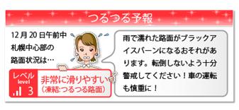 『つるつる予報(R)』画面イメージ