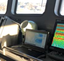 船橋前面にPOLARIS Navigationを搭載