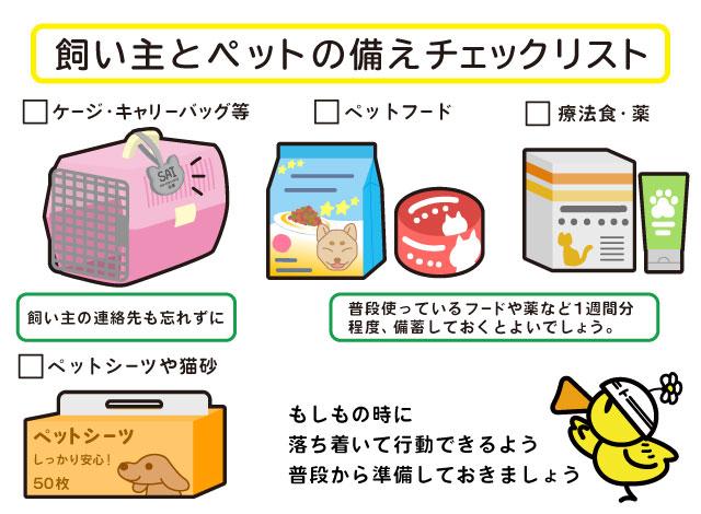 トクする!防災×日本動物愛護協会 ペットの防災対策1