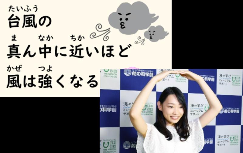 「台風○×クイズ」より